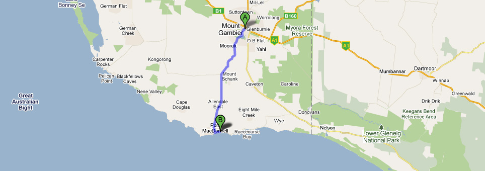 Just a short detour from Mount Gambier